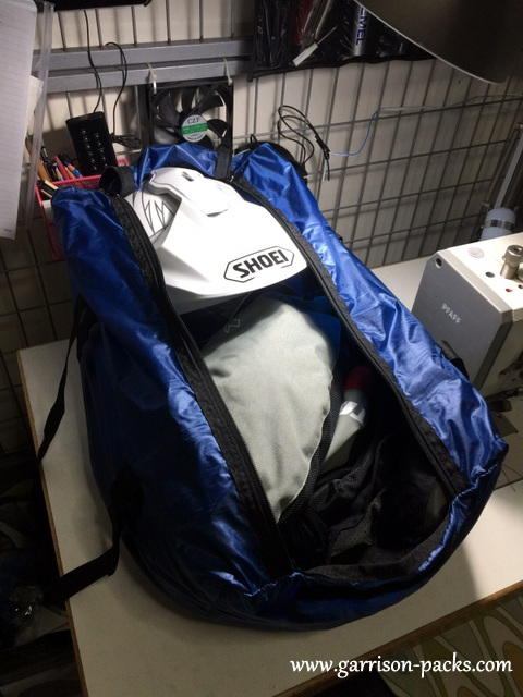 The duffel bag can swallow a tonne of gear!