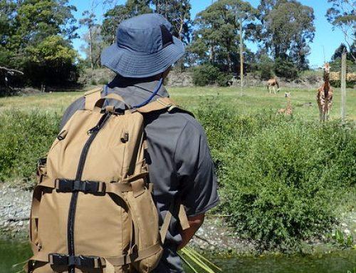 Custom made EDC pack working in New Zealand