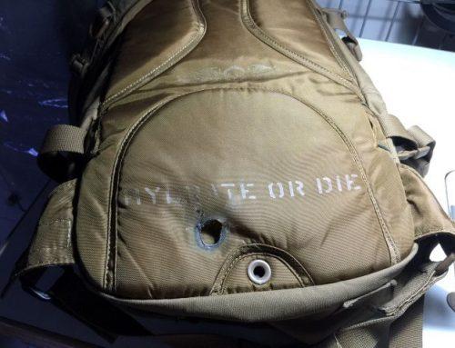 Backpack repair division