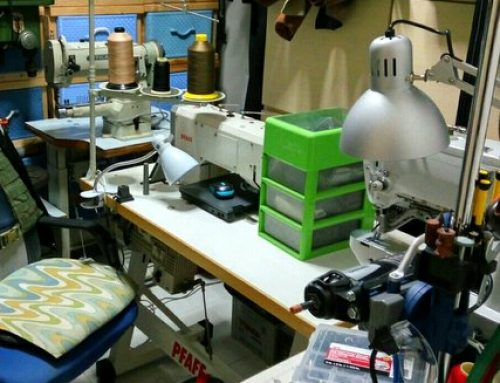 Moving sewing workshop to new location